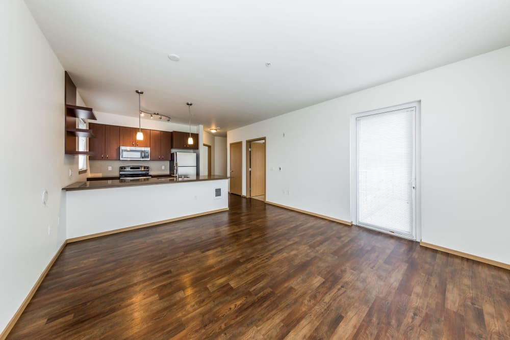 Bright, open floor plans at Marq West Seattle in Seattle, Washington