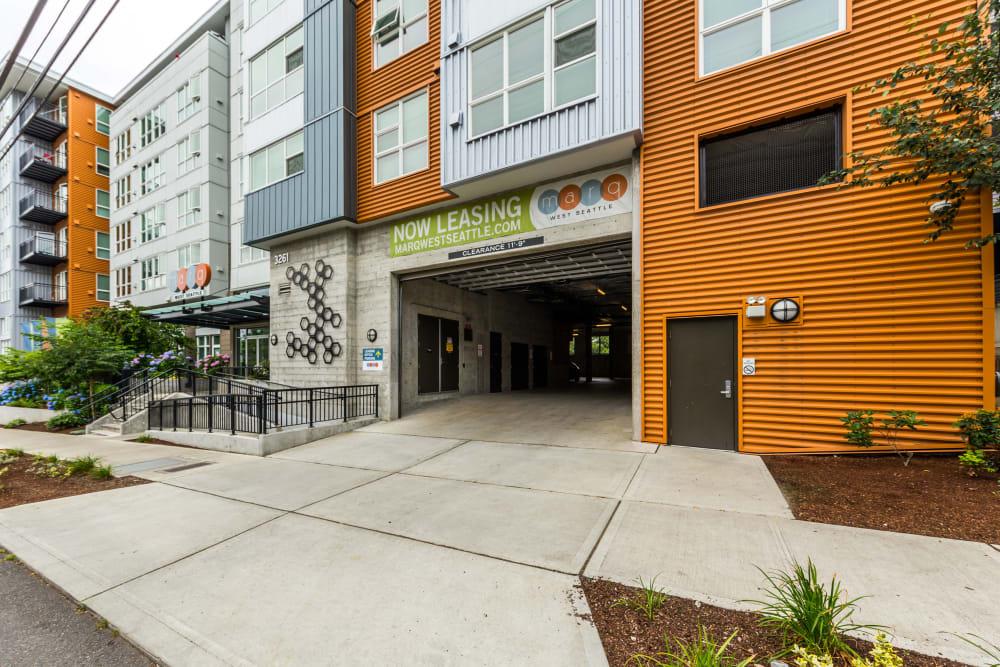 Garage at Marq West Seattle in Seattle, Washington