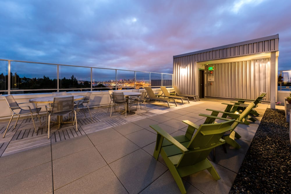 Rooftop at Marq West Seattle in Seattle, Washington