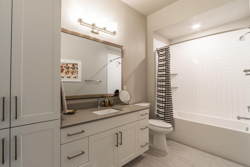 Bathroom at The Clark in Austin, Texas
