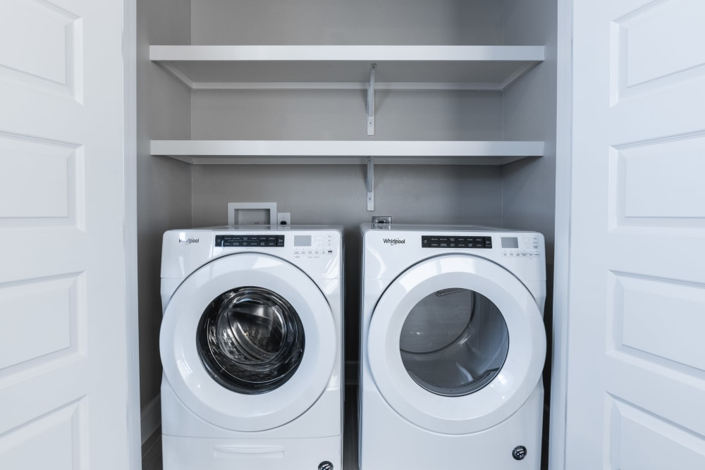 Washer and dryer at The Clark in Austin, Texas