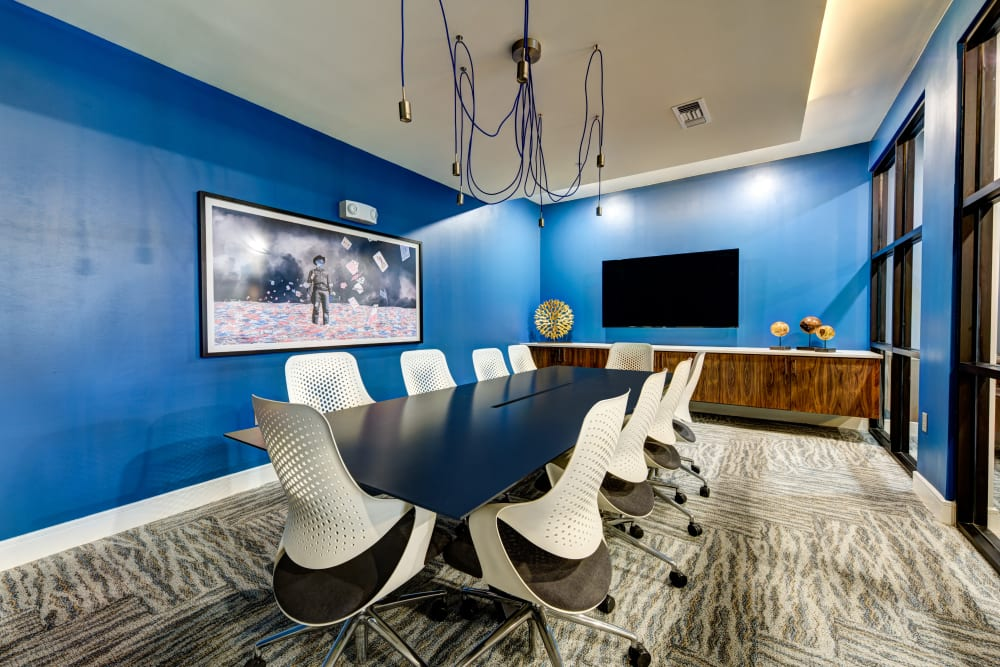 Conference room at Water Marq in Austin, Texas