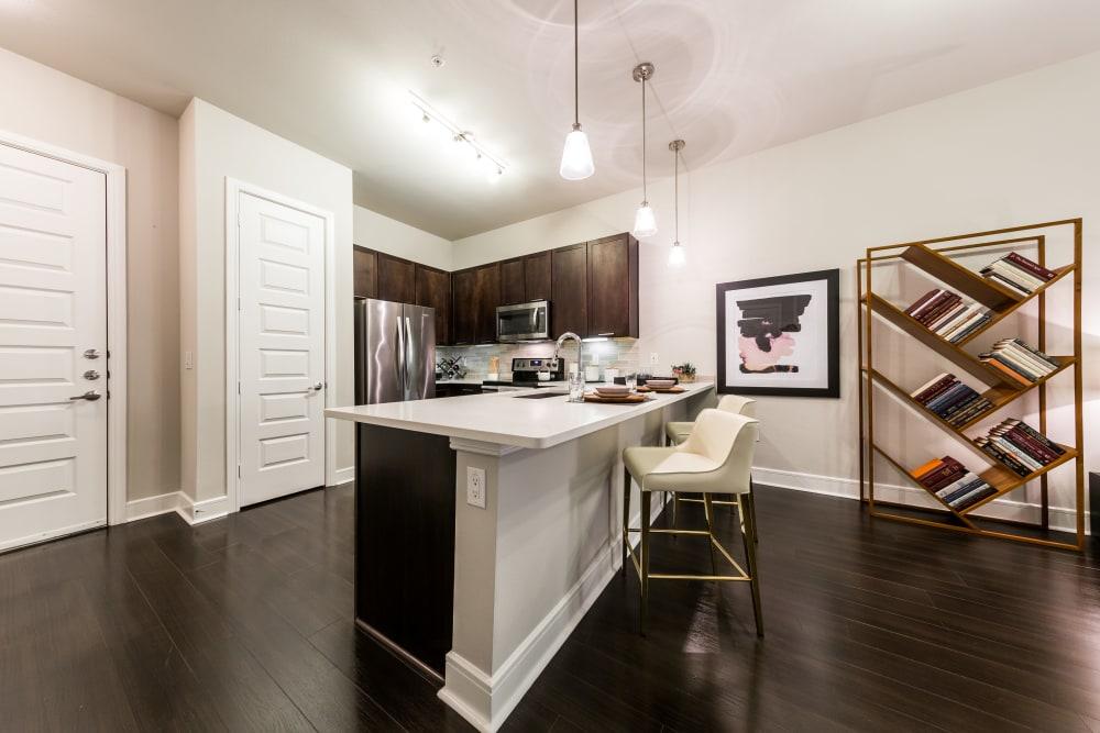 Kitchen at Marq 31 in Houston, Texas