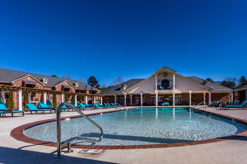 Swimming pool at Arlo Luxury Apartment Homes in Little Rock, Arkansas