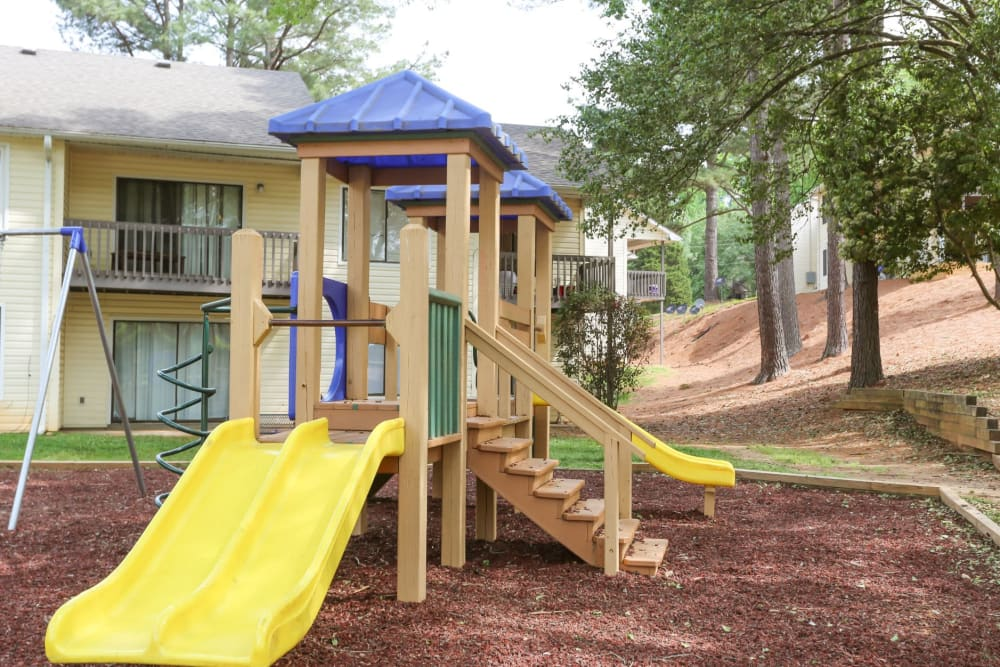 Playground onsite for children at The Flats at Arrowood in Charlotte, North Carolina
