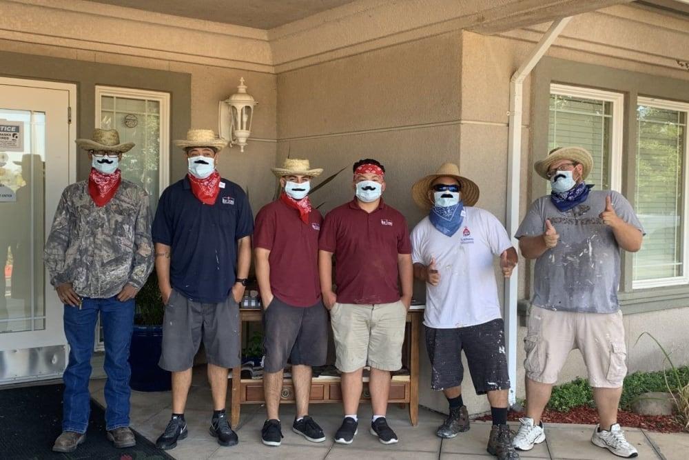 Ray Stone Inc. employees doing community service