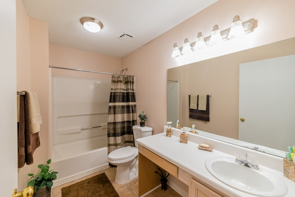 Bathroom at Apartments in Conyers, Georgia
