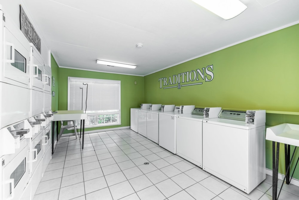 Laundry Facility at Traditions at Augusta Apartment Homes in Augusta, Georgia
