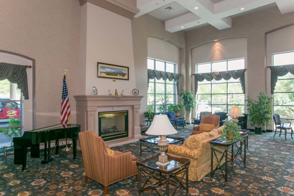 Resident clubhouse at Mountain View Retirement Village in Tucson, Arizona