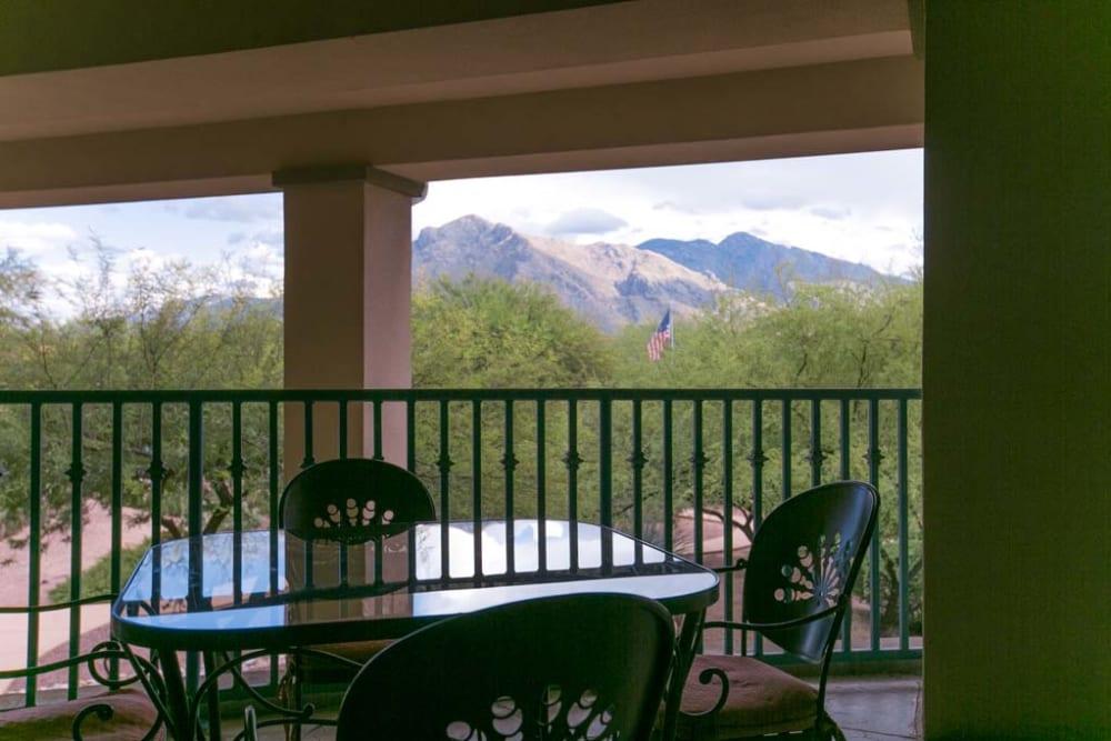 Beautiful views at Mountain View Retirement Village in Tucson, Arizona