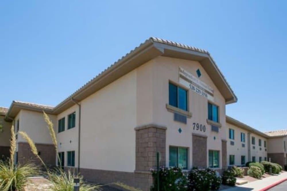 Building at Mountain View Retirement Village in Tucson, Arizona