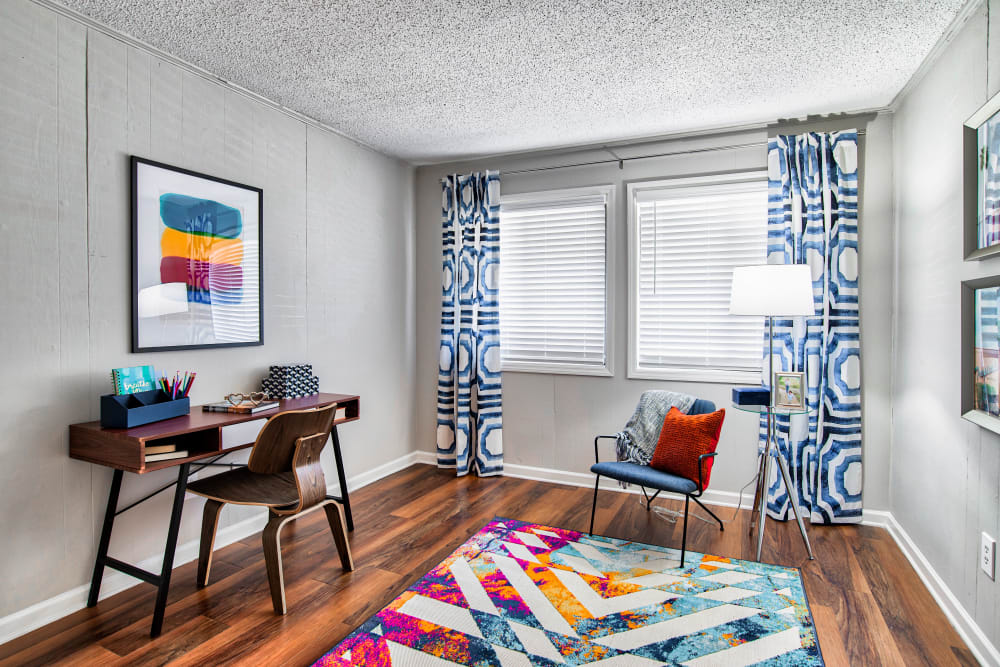 Bedroom/Home Office at Apartments in Sandy Springs, Georgia