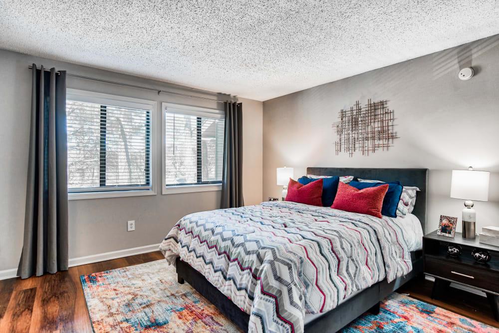 Bedroom at Apartments in Sandy Springs, Georgia