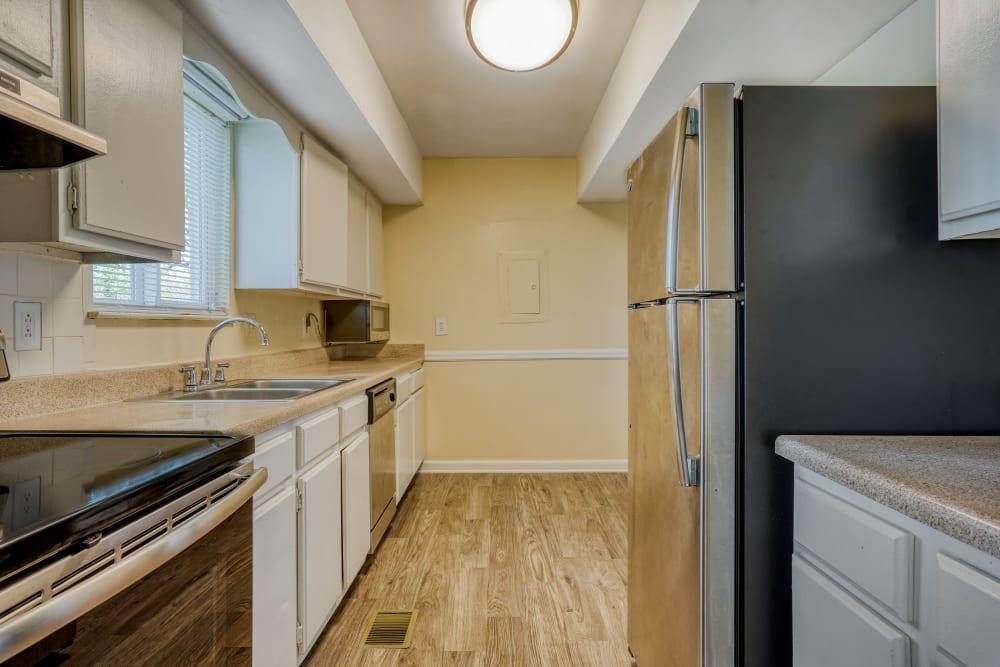 Kitchen at Post Ridge Apartments in Nashville, Tennessee