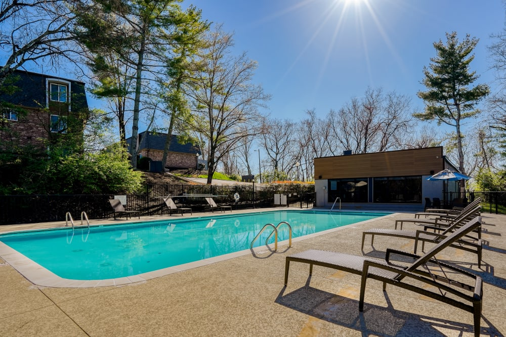 Our Apartments in Nashville, Tennessee offer a Swimming Pool