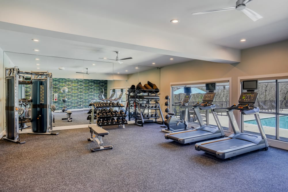 Enjoy Apartments with a Gym at Post Ridge Apartments in Nashville, Tennessee