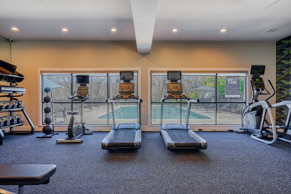 Our Apartments in Nashville, Tennessee offer a Gym