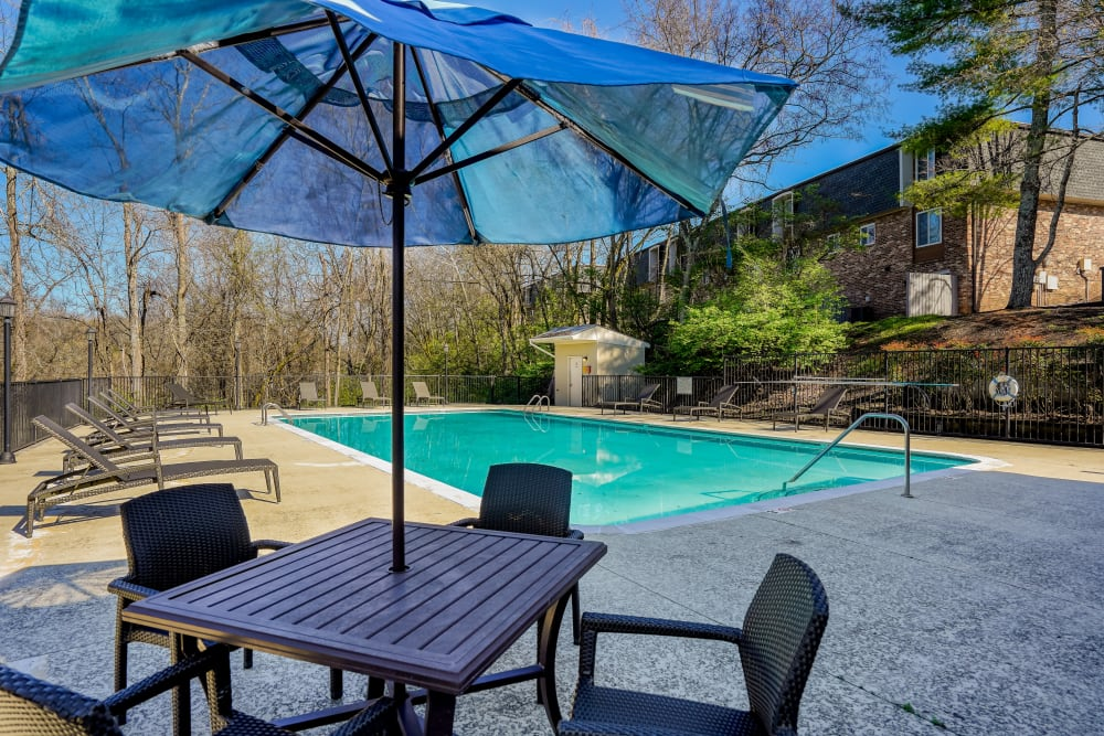Enjoy Apartments with a Swimming Pool at Post Ridge Apartments in Nashville, Tennessee