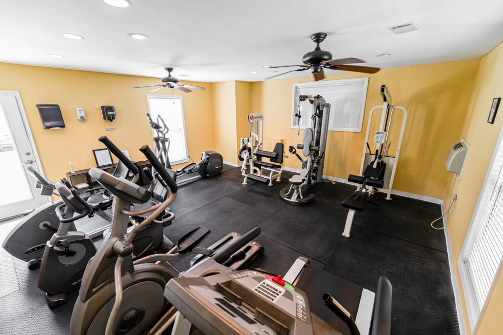 Enjoy Apartments with a Gym at Traditions at Augusta Apartment Homes in Augusta, Georgia