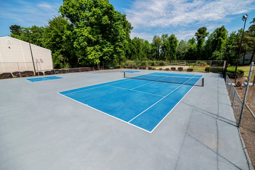 Our Apartments in Augusta, Georgia offer a Tennis Court