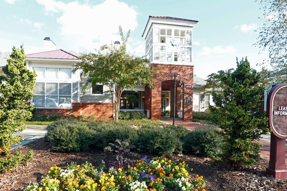 Leasing Center at The Seasons at Umstead in Raleigh, North Carolina