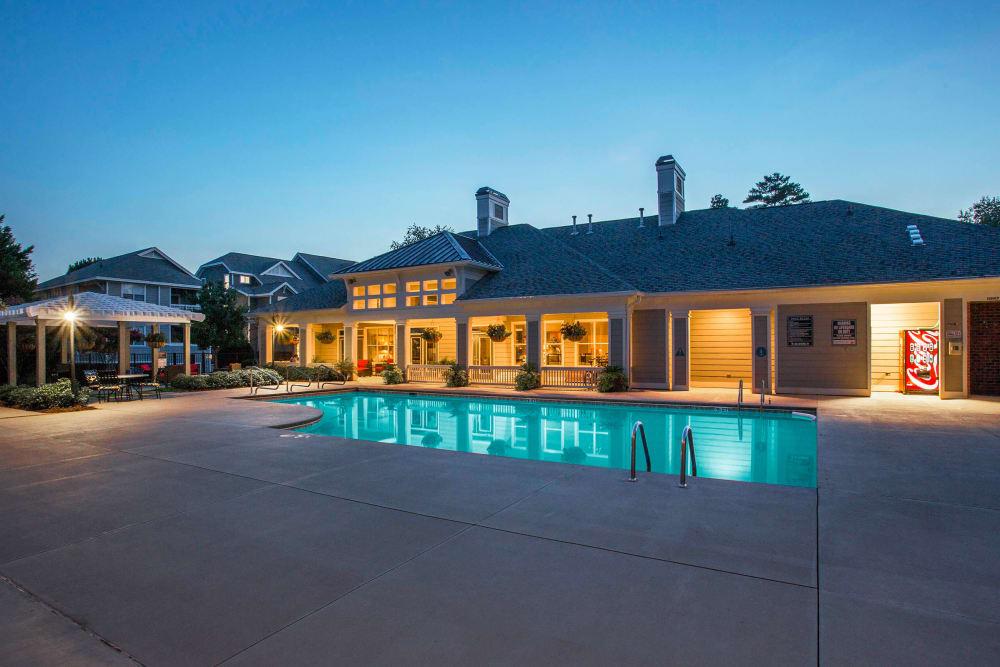 Beautiful Swimming Pool at The Seasons at Umstead in Raleigh, North Carolina