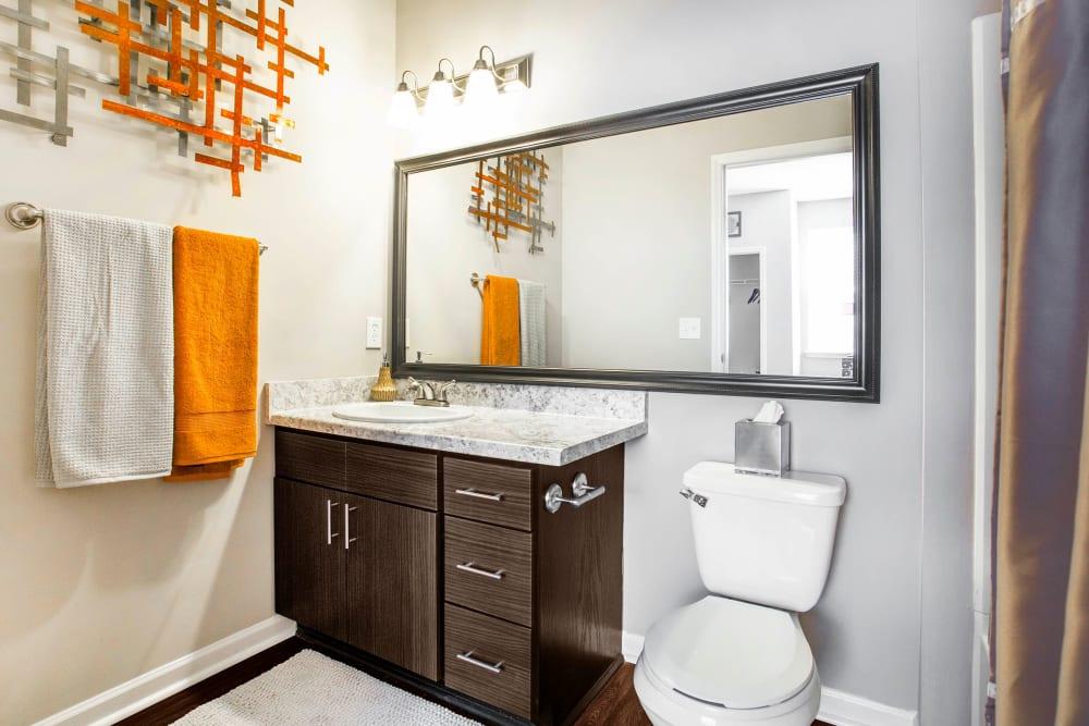 Master Bathroom at The Seasons at Umstead in Raleigh, North Carolina