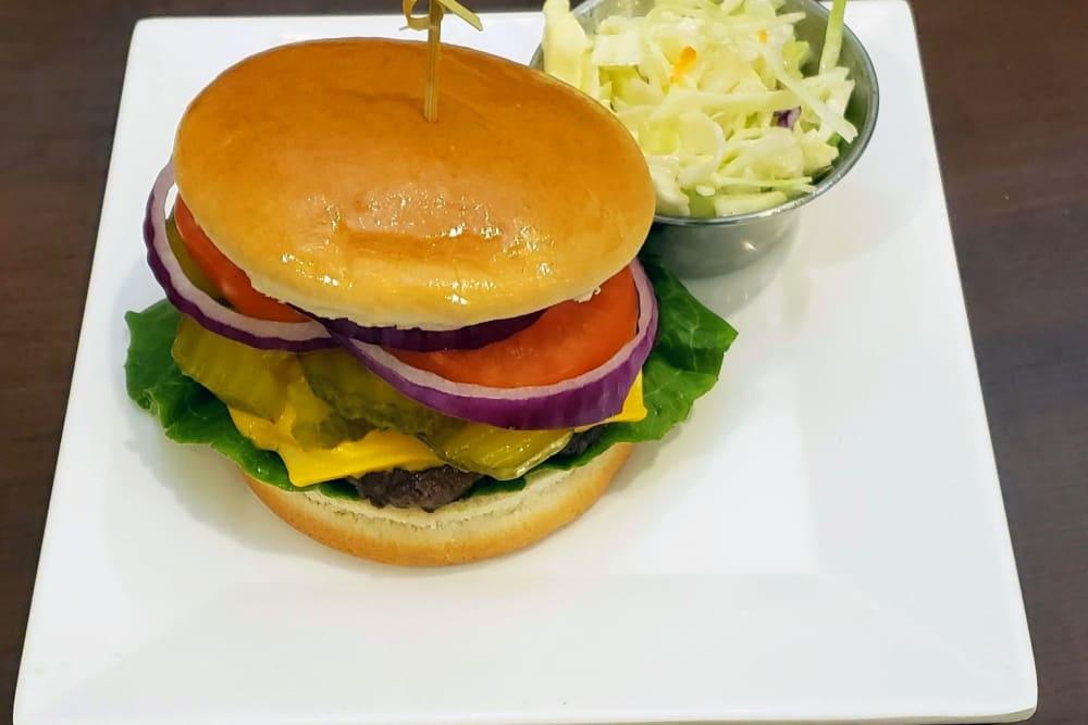 Cheeseburger at GreenTree at Mt. Vernon