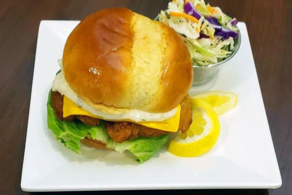 Fish Sandwich at GreenTree at Mt. Vernon