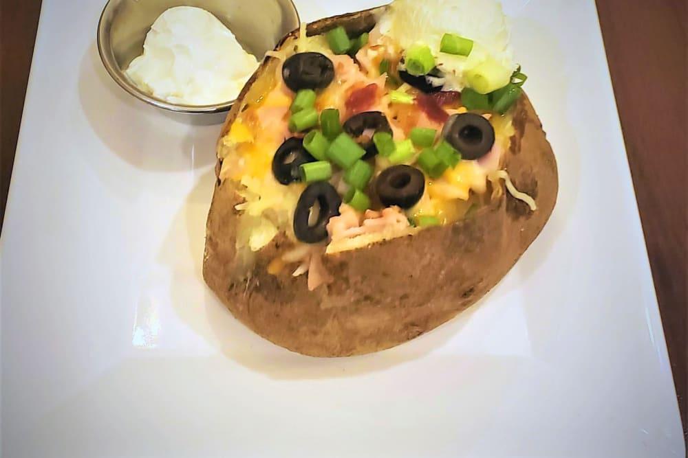 Loaded Baked Potato at GreenTree at Mt. Vernon