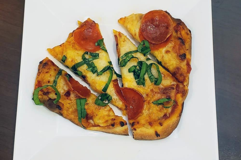 Pepperoni Pizza at GreenTree at Mt. Vernon