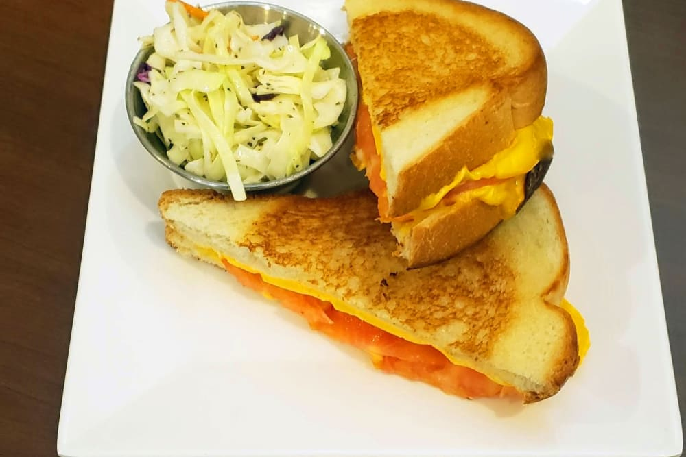 Grilled Cheese Tomato Sandwich at GreenTree at Mt. Vernon