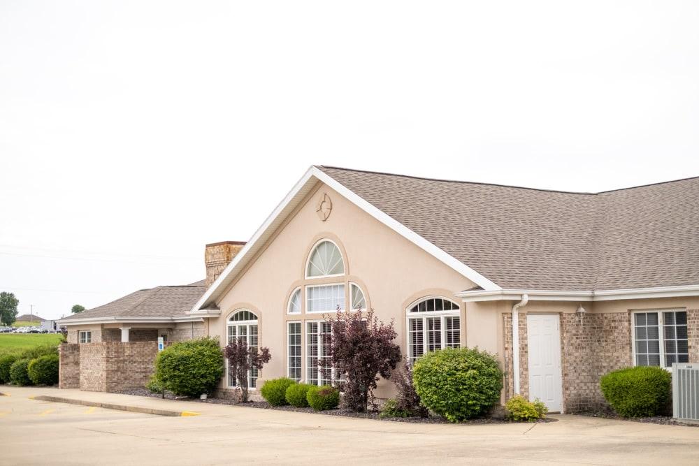 Exterior at Brookstone Estates of Vandalia in Vandalia, Illinois