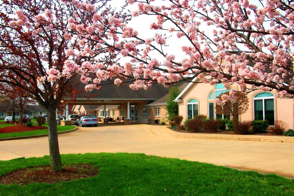 Beautiful scenery outside Brookstone Estates of Effingham in Effingham, Illinois.