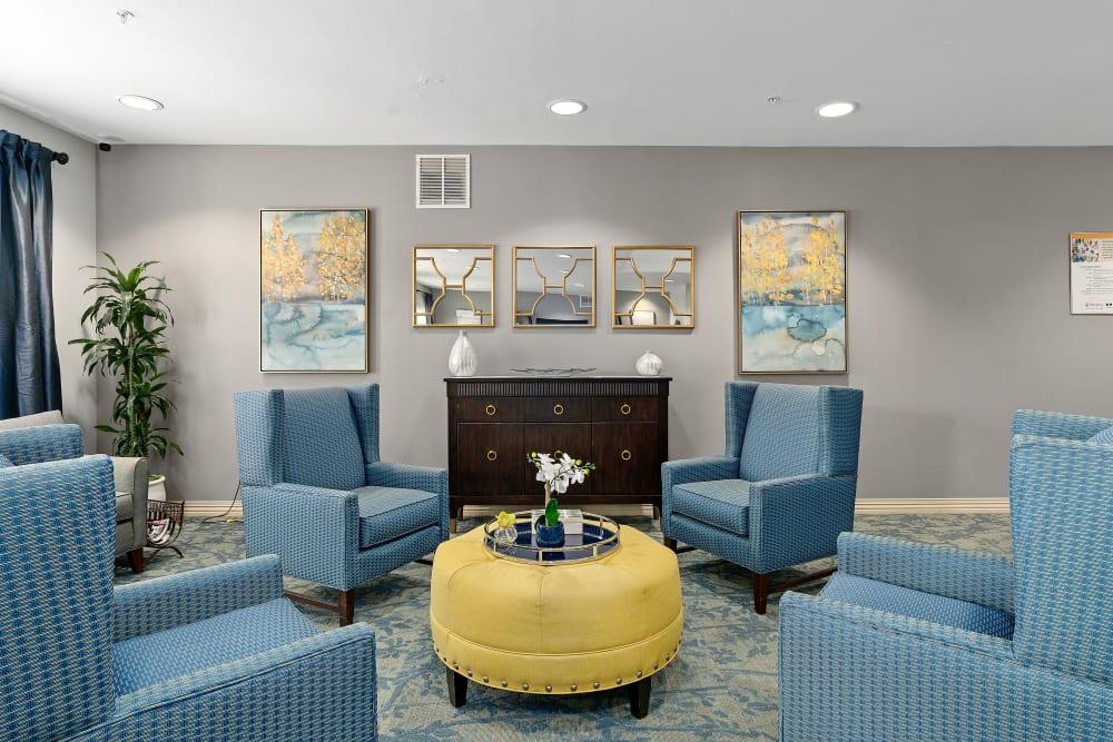Beautiful living room at Gentry Park Orlando in Orlando, FL