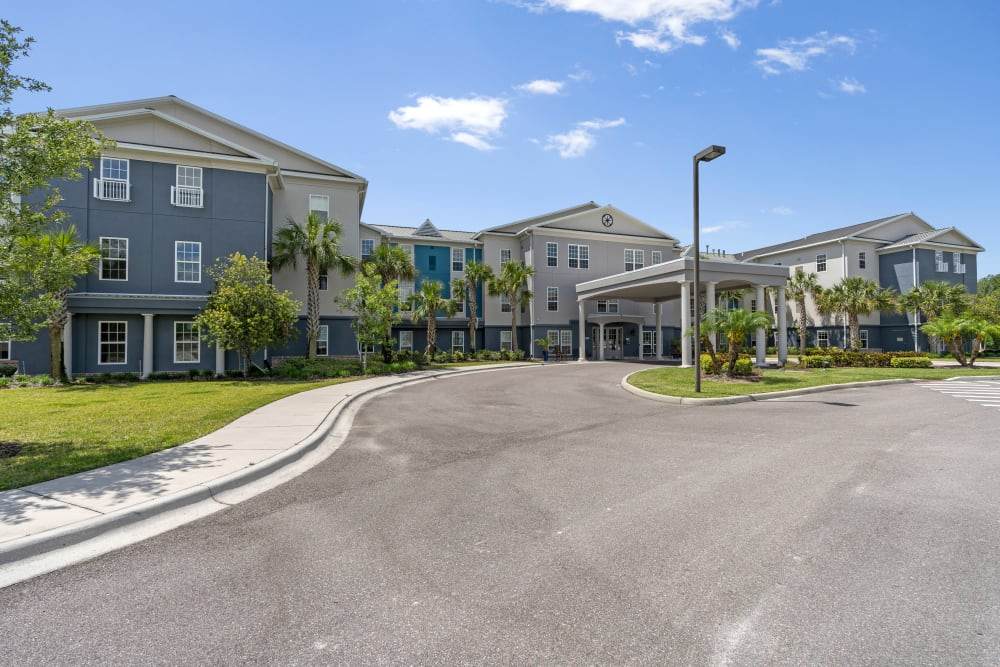 Exterior view of Gentry Park Orlando in Orlando, FL