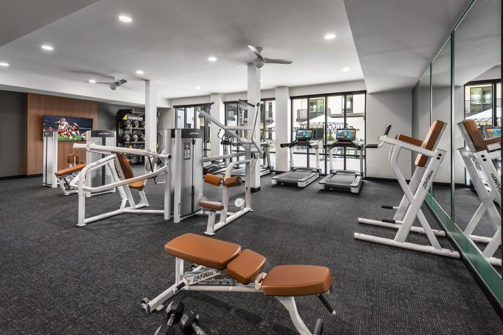 Fitness Center at Gramercy Scottsdale in Scottsdale, Arizona