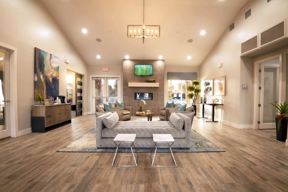 Beautiful Clubhouse at Norterra Canyon Apartments in North Las Vegas, Nevada
