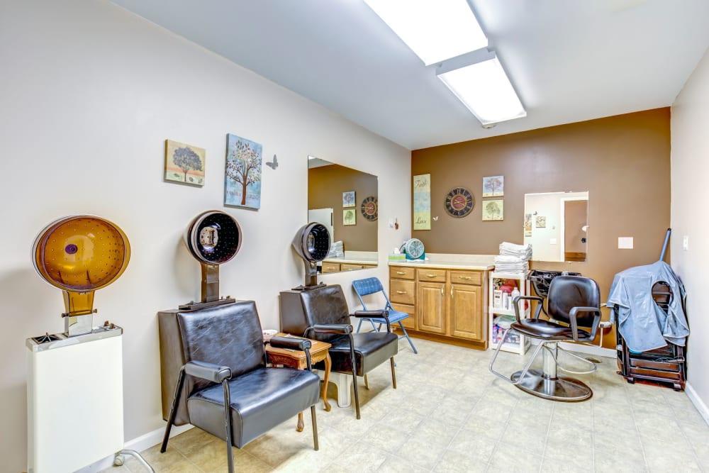 Salon at Brookstone Estates of Harrisburg in Harrisburg, Illinois.