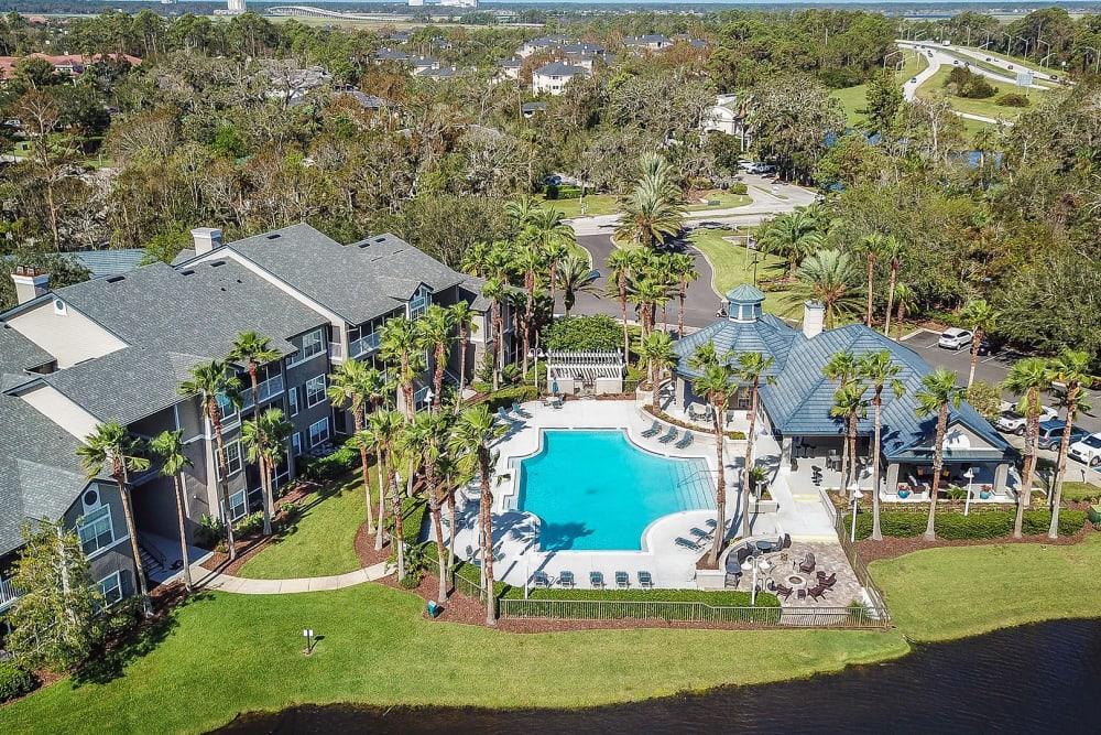 Exterior view at Ocean Park of Ponte Vedra in Jacksonville Beach, Florida