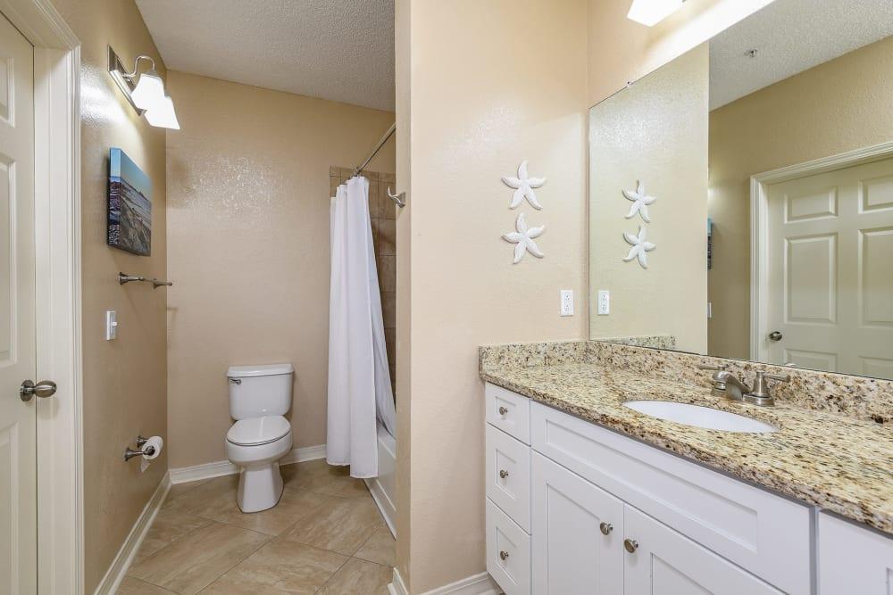 Bathroom at Ocean Park of Ponte Vedra in Jacksonville Beach, FL