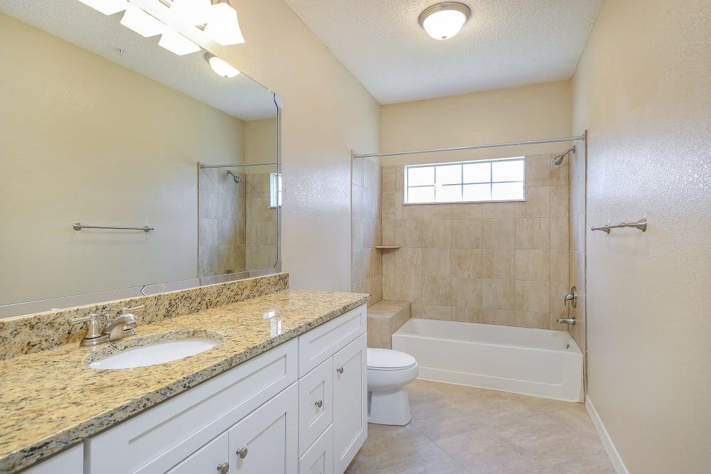 A second bathroom view at Ocean Park of Ponte Vedra in Jacksonville Beach, FL