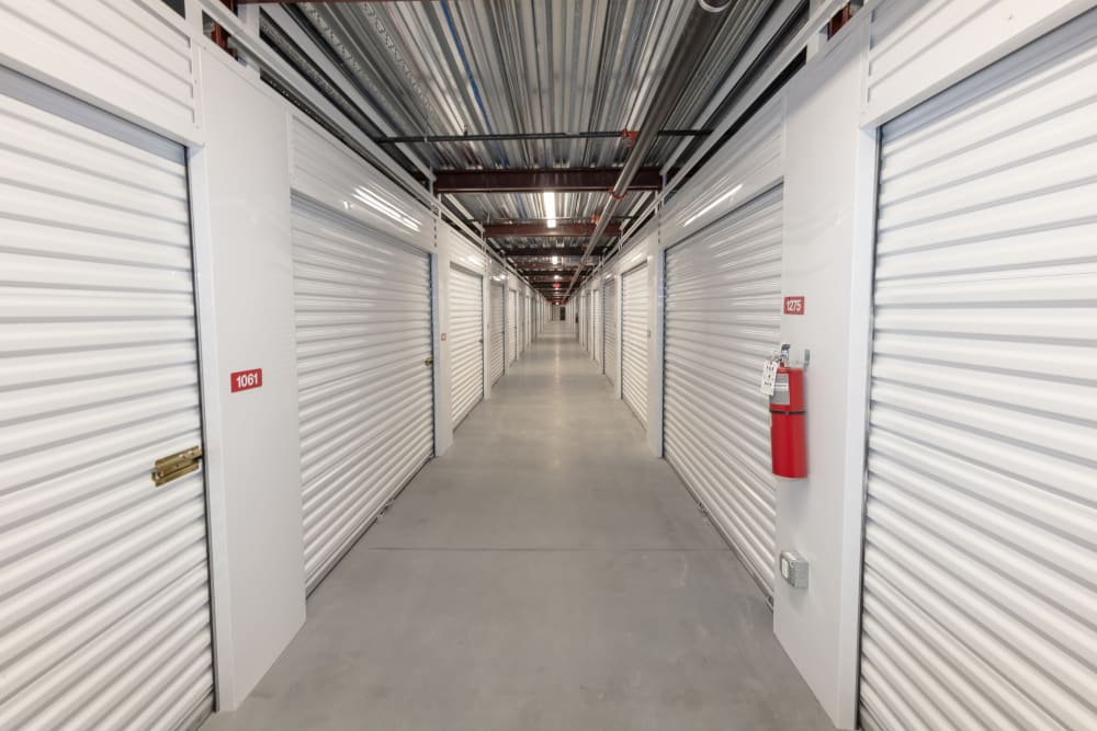 Hallway at Box Self Storage Thibodaux LA