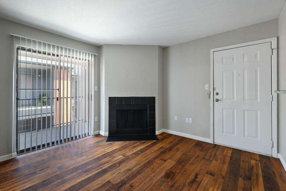 Spacious floor plan at Windmill Terrace in Bedford, Texas