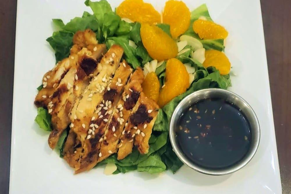 Asian Chicken Salad at Absaroka Senior Living's cafe