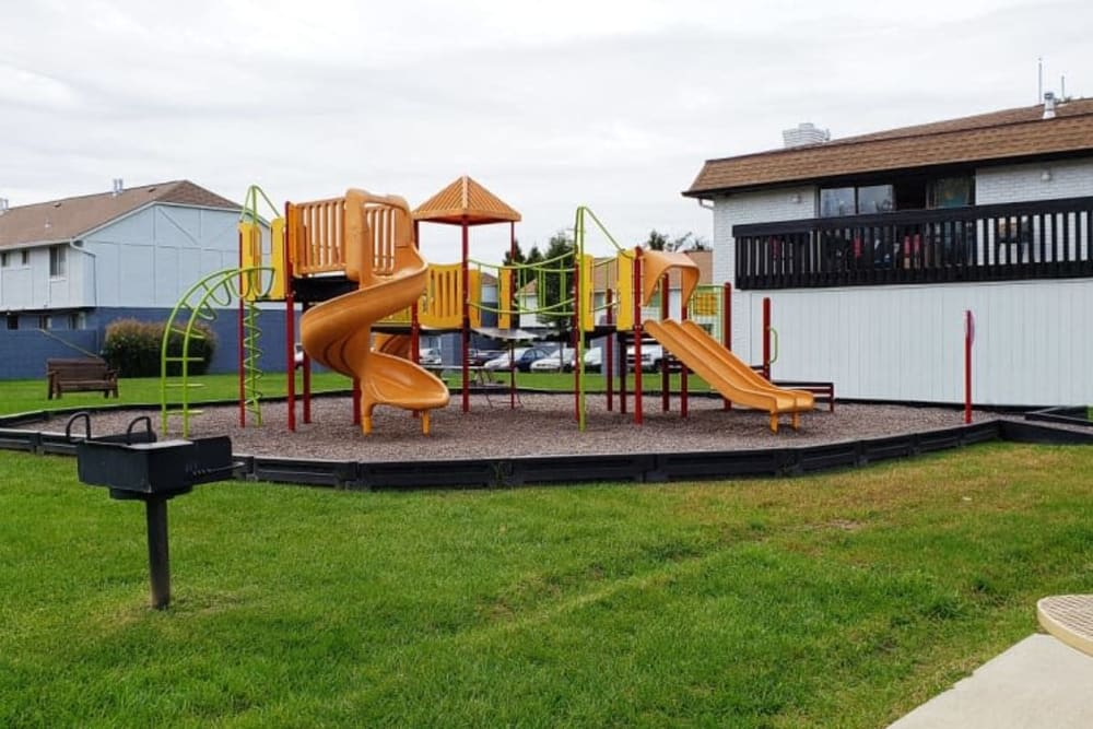 Playground at Shaker Square Townhome Apartments
