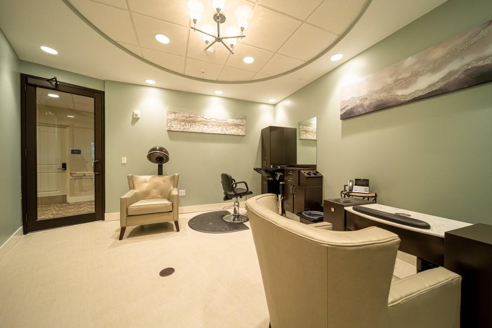 Beauty Salon at Inspired Living Delray Beach in Delray Beach, Florida