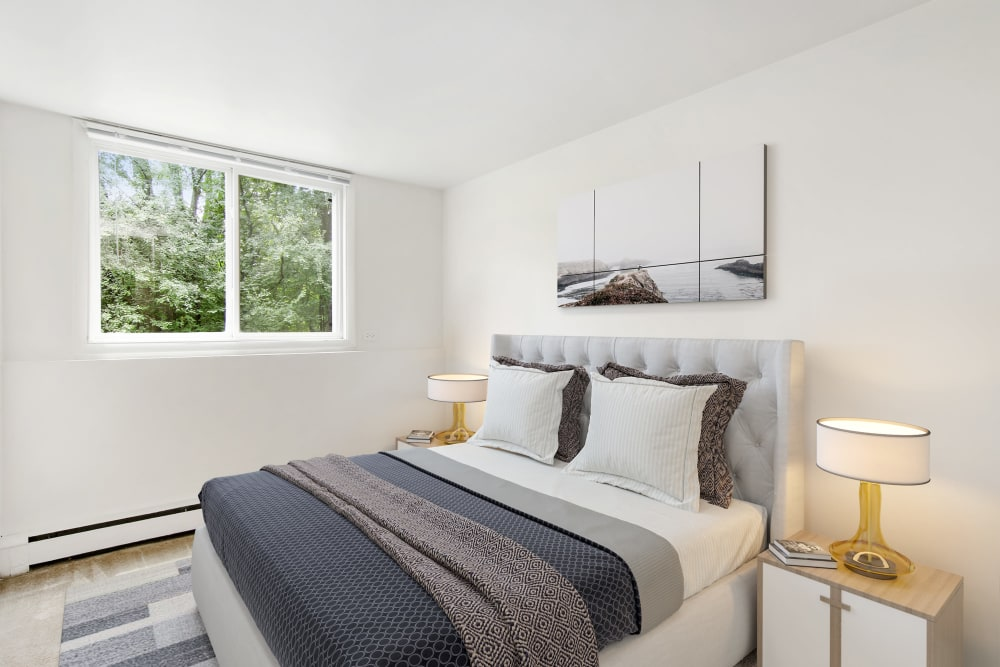 Master Bedroom at Riverstone Apartments in Bolingbrook, Illinois