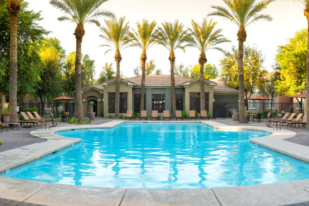 Enjoy Apartments with a Swimming Pool at Broadstone Desert Sky in Phoenix, Arizona