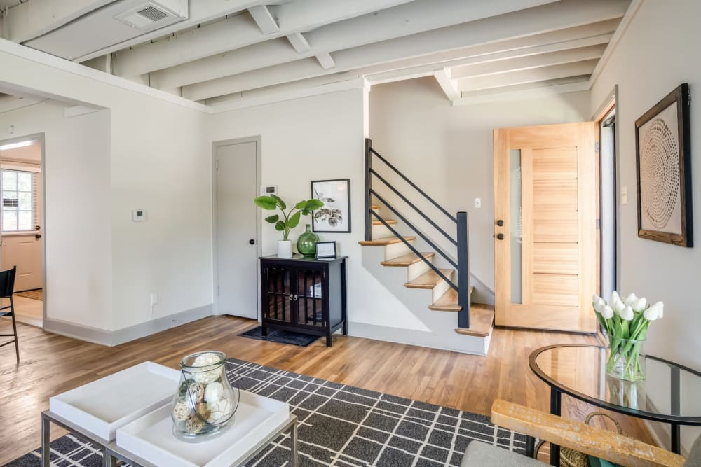 Open floor plans at Kiwi Goji Apartments in Memphis, Tennessee